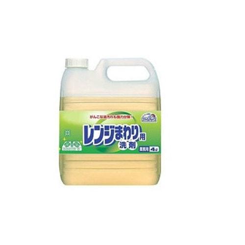 Mitsuei Чистящее средство для удаления жирных загрязнений с поверхностей с ароматом лимона д/флак.с дозатором, 4 л