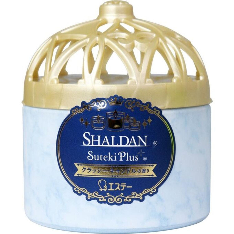 ST Shaldan Гелевый освежитель воздуха, для комнаты и туалета, Элегантная свеча, 260 г