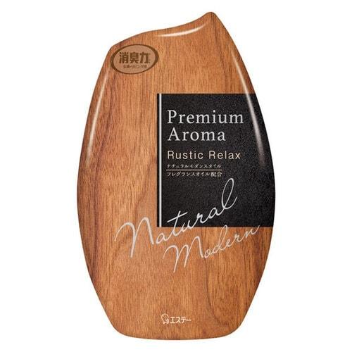 ST Shoushuuriki Жидкий дезодорант - ароматизатор для комнат, цитрусовый аромат с нотками дерева, 400 мл