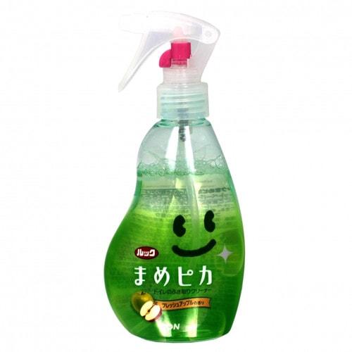 LION Моющее антибактериальное средство для туалета с ароматом яблока «Look Mame Рiкa», 210 мл./ 355215