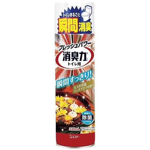 ST Shoushuuriki Спрей-освежитель воздуха для туалета с ароматом Арома Рич,330 мл/123575