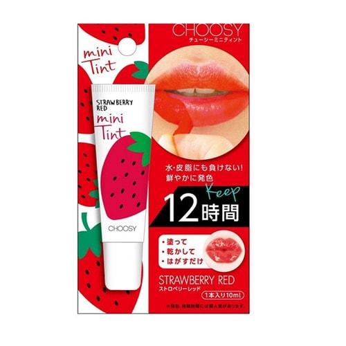 """Choosy """"Mini Tint"""" Стойкий тинт для губ с экстрактами фруктов и алоэ-вера, пчелиным молочком, медом, коллагеном и гиалуроновой кислотой (красный)"""