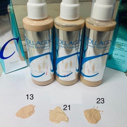 Enough Collagen Moisture Foundation  Увлажняющий тональный крем с коллагеном, SPF15, тон 21, 100 мл./ 062379
