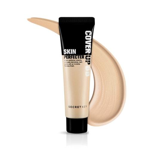 SECRET KEY Cover Up Skin Perfecter BB крем для идеального тона лица, 23 тон, (натурально-бежевый), 30 мл./ 090031