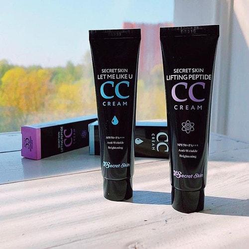 Secret Skin Lifting Peptide CC Cream  Пептидный сс-крем с лифтинг-эффектом SPF50+ PA+++, 30 мл./ 516000