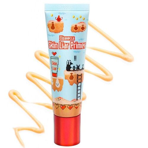 ELIZAVECCA Milky Piggy Skin Liar Primer Увлажняющий праймер для идеального макияжа, 30 мл