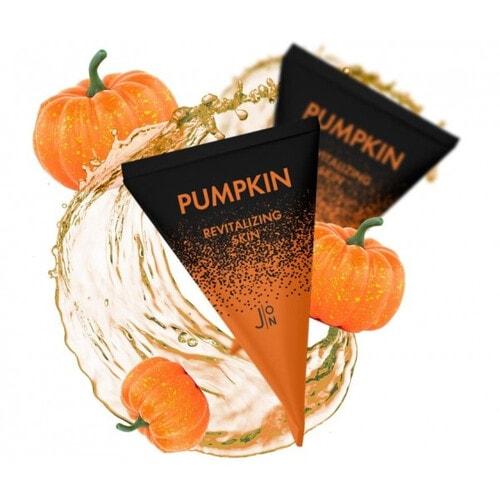Pumpkin Revitalizing Skin Sleeping Pack Маска для ревитализации кожи лица ночная с тыквой, 5г