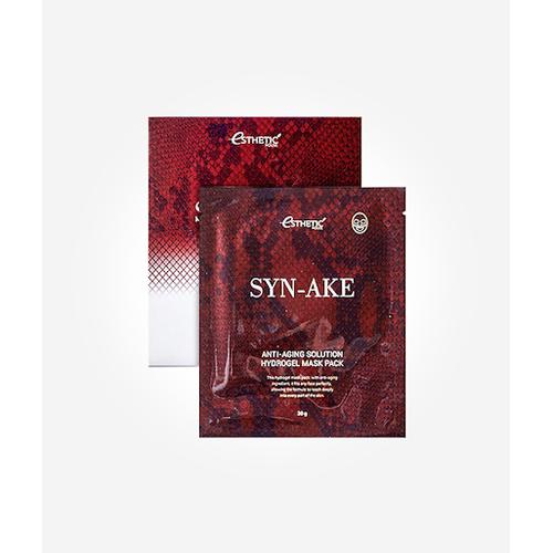 """Esthetic House Syn-Ake Anti-Aging Solution Hydrogel Mask Pack Гидрогелевая маска для лица с эффектом """"ботокса"""", 1 шт"""