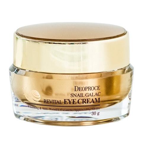 DEOPROCE   Snail Galac Revital Cream Крем для век с улиточным муцином, 30 г./ 030377