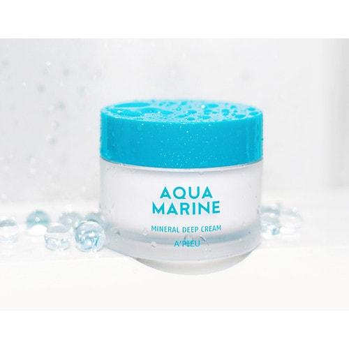 A'PIEU Aqua Marine Mineral Deep Cream Глубокоувлажняющий минеральный крем с морской водой, 50 мл /066805