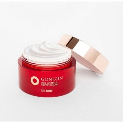 Dr. Bom GongJin Red   Омолаживающий крем для лица с растит. экстрактами и экстрактом оленьих рогов