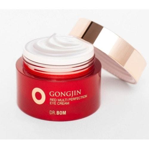 Dr. Bom GongJin Red   Омолаживающий крем для век с растительными экстрактами и экстрактом оленьих рогов