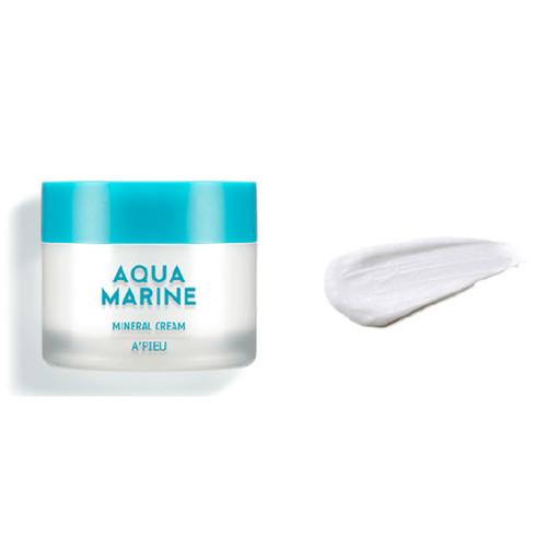 A'Pieu Aqua Marine Mineral Cream Минеральный увлажняющий крем для лица с морской водой, 50 мл/ 043615