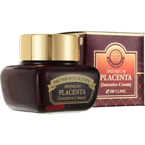 3W CLINIC Premium Placenta Age Repair Cream Восстанавливающий крем для лица с плацентой
