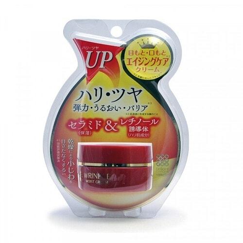 MEISHOKU Лифтинг-крем для области глаз и губ с церамидами после 40 лет, делает менее заметными морщинки, 30 гр
