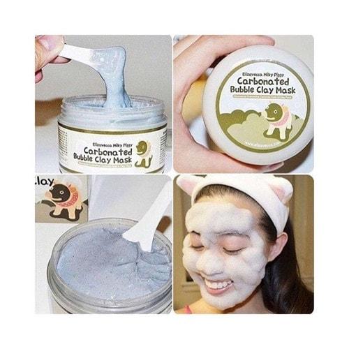Elizavecca Milky Piggy Carbonated Bubble Clay Mask Пузырьковая глиняная маска, 100г./ 369427