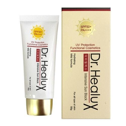 Dr. Healux Крем для лица солнцезащитный - Intensive sun block SPF50+/PA++++, 50мл