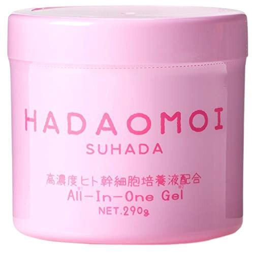 """Akari """"Hadaomoi Suhada"""" Увлажняющий и питательный гель для лица и тела, с концентратом стволовых, 290 г."""