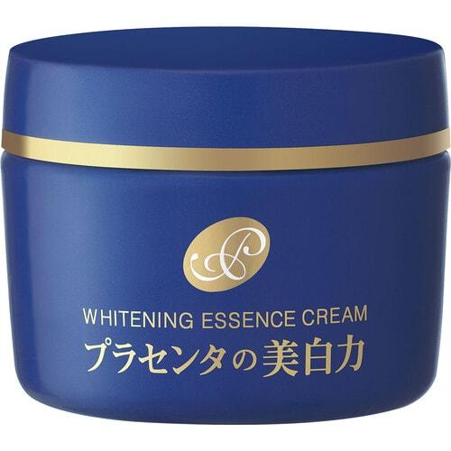 Meishoku Placenta Essence Cream Крем-эссенция с отбеливающим эффектом и экстрактом плаценты, 55г