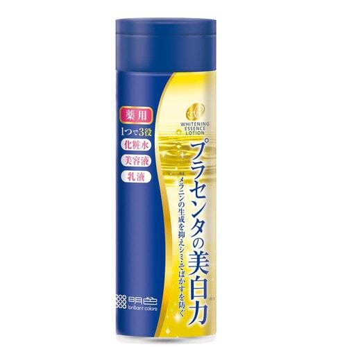 Meishoku Placenta Whitening Лосьон-эссенция с экстрактом плаценты, с отбеливающим эффектом, 190 мл