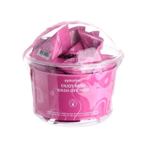 Ayoume Enjoy Mini Wash-Off Pack Маска смываемая для жирной кожи (мини-пирамидка)