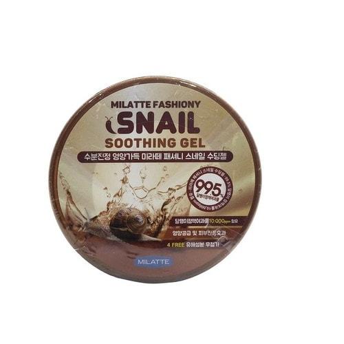 Milatte Fashiony Snail Soothing Gel Гель многофункциональный для лица и тела с экстрактом улитки, 300мл / 260086