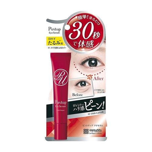 Meishoku Pint Up Eye Serum Сыворотка для уменьшения проявлений мимических морщин и мешков под глазами, 18 гр