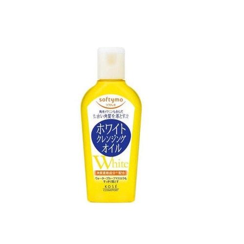 Cosmeport «Softymo» Очищающее гидрофильное масло для снятия макияжа, с отбеливающим эффектом, без аромата, 60 мл