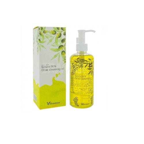 Elizavecca Milky Wear Natural 90% Olive Cleansing Oil  Гидрофильное масло для лица, 300 мл/ 365504