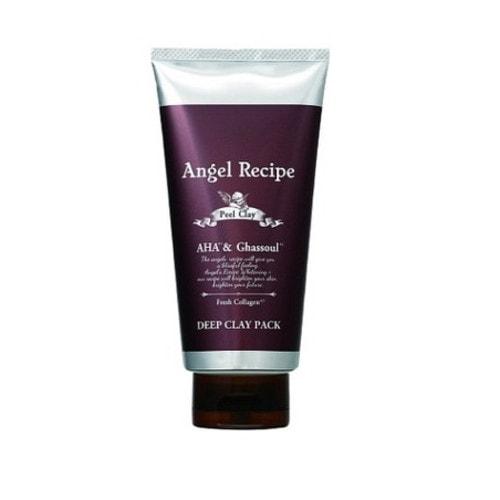 Angel Recipe Peel Clay Clear Pack Крем-маска для глубокого очищения и мягкого пилинга лица, 130г/ 401310