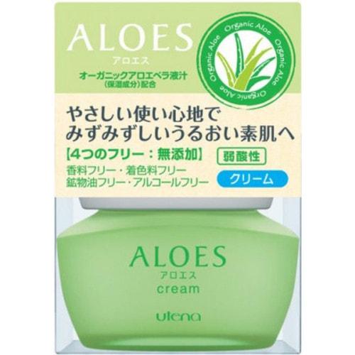 """UTENA """"Aloes"""" Легкий увлажняющий крем с экстрактом алоэ вера и скваланом, 44г"""