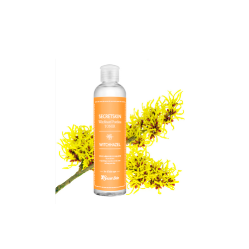 Secret Skin Witchhazel Poreless Toner Тонер для лица с экстрактом гамамелиса,  250мл/ 514525