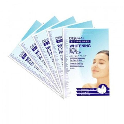 DERMAL Whitening Eye Patch Патчи (маски) для глаз ОТБЕЛИВАНИЕ, 9 г./ 704664