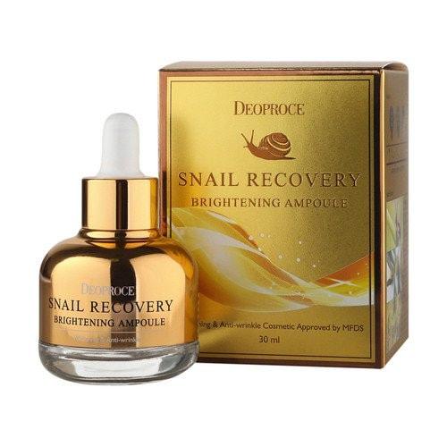 DEOPROCE Snail Recovery Brightening Ampoule Ампула-сыворотка с фильтратом улитки