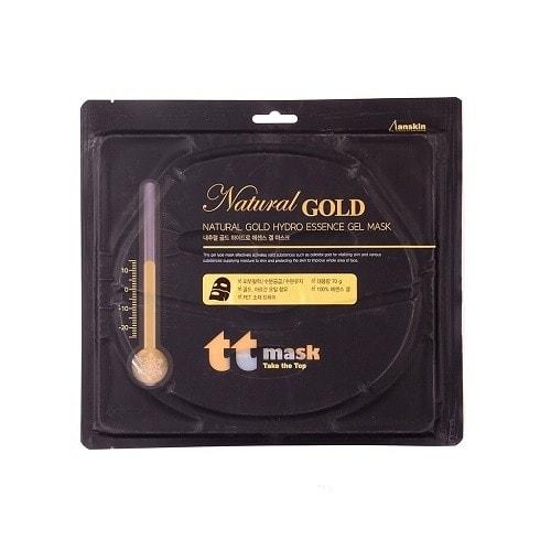 Гидрогелевая маска с золотом  Anskin Natural Gold Hydro Essence Gel Mask, 70г