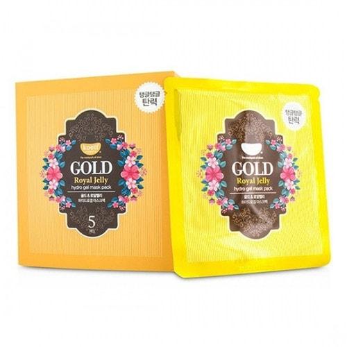 KOELF Gold & Royal Jelly Hydro Gel Mask Гидрогелевая маска Золото и маточное молочко, 30 г./ 802551