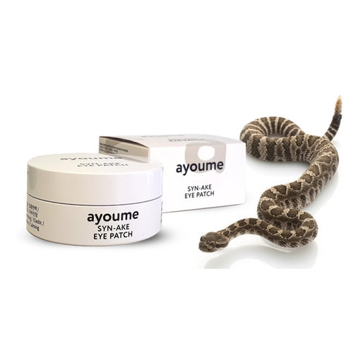 Ayoume Syn-Ake Eye Patch патчи для глаз с пептидом змеиного яда Syn-Ake, 60шт/ 804135