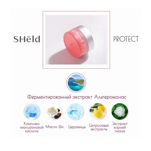 Momotani SHeld Protect UV Cream SPF32 PA+++ Дневной крем: увлажнение и защита SPF32 PA+++. 40 мл