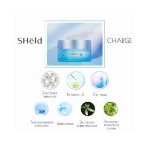 Momotani SHeld Charge Cream Интенсивный ночной крем для лица, 40 г
