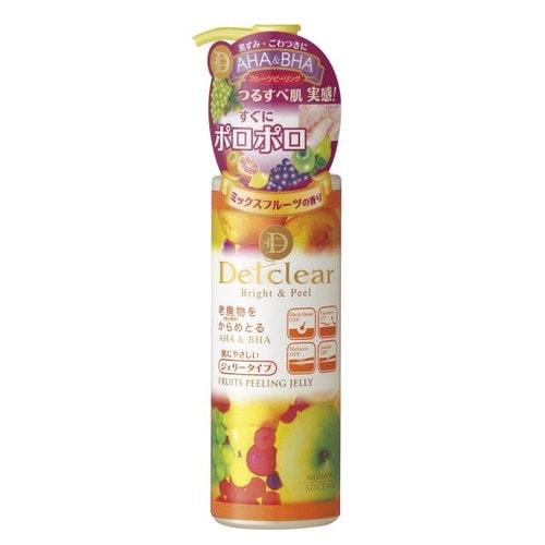 MEISHOKU Fruits Peeling Jelly Очищающ пилинг-гель с AHA и BHA с эффект сильного скатыв, 180мл/226045