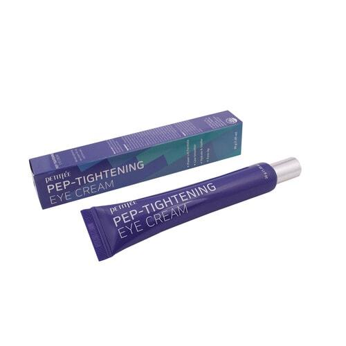 PETITFEE Pep-Tightening Eye Cream Крем для глаз ПЕПТИДЫ/ОМОЛОЖЕНИЕ , 30 мл