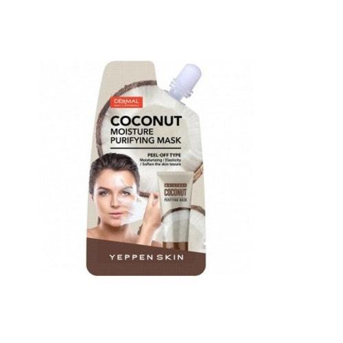 YEPPENSKIN Маска-пленка увлажняющая, улучшающая текстуру и эластичность кожи с экстрактом и маслом кокоса, 25 г./ 859012
