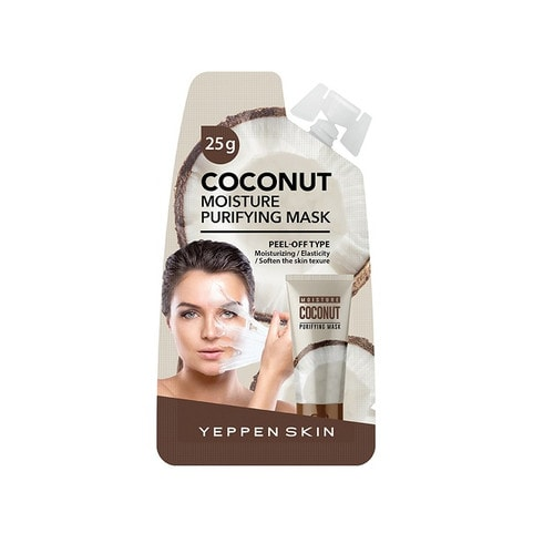 YEPPENSKIN Coconut Moisture Purifying Mask Маска-пленка с экстрактом кокоса, 20 г./ 859920