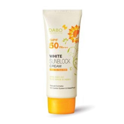 DABO Eco Life Style White Sunblock Cream SPF 50 PA+++ Cолнцезащитный крем, 70 мл / 951601
