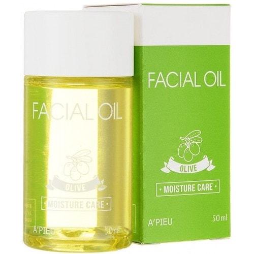A'Pieu Facial Oil Olive Moisture Care увлажняющее масло для лица с оливой, 50мл./ 746960