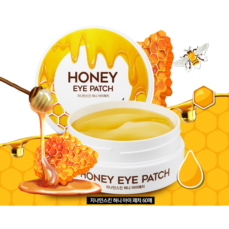 Патчи из гидрогеля Berrisom G9 Skin Honey Eye Patch для кожи вокруг глаз с медом, 60шт./ 654215
