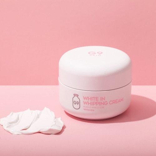 Крем для лица осветляющий с экстрактом молочных протеинов G9 White In Whipping Cream, 50 гр/ 652563