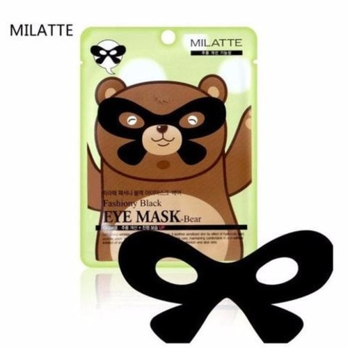 MILATTE Fashiony Black Eye Mask Bear Маска от морщин вокруг глаз