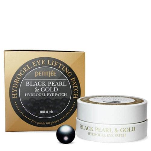 PETITFEE Black Pearl & Gold Eye Patch Патчи для глаз с черным жемчугом и золотом,