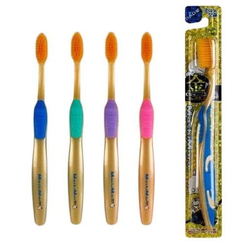EQ MAXON Зубная щетка c наночастицами золота, 1 шт